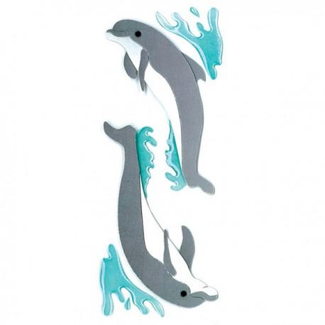 Дельфины Стикеры для скрапбукинга, кардмейкинга Ek Success