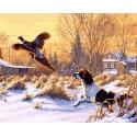 GX8197 Охотник Раскраска картина по номерам акриловыми красками на холсте