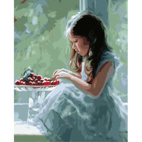 GX8196 Помощница (художник Владимир Волегов) Раскраска картина по номерам акриловыми красками на холсте