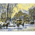 Владимирская улица Раскраска картина по номерам на холсте