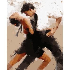 GX8106 В танце (художник Андре Кон) Раскраска картина по номерам акриловыми красками на холсте