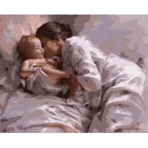Мать и младенец Раскраска картина по номерам акриловыми красками на холсте