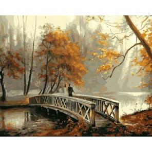 GX8156 На мосту (художник Наталья Григорьева) Раскраска картина по номерам акриловыми красками на холсте