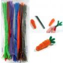 Яркий набор Синельная пушистая проволока (шенил) для поделок и детского творчества