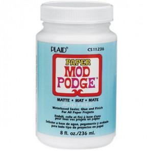 Матовый Клей лак для бумаги 11236 Mod Podge Plaid