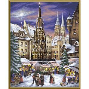 Рождественские гуляния Раскраска картина по номерам акриловыми красками Schipper (Германия)
