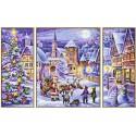 Рождество Триптих Раскраска по номерам Schipper (Германия)