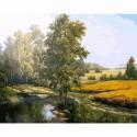 На исходе лета Раскраска картина по номерам на холсте Molly