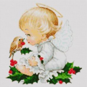 Ангелочек Алмазная вышивка мозаика Iteso | Купить алмазную мозаику