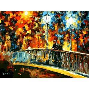 Встреча Раскраска картина по номерам на холсте Menglei