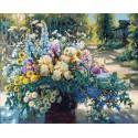 Летнее великолепие Раскраска картина по номерам акриловыми красками на холсте Белоснежка