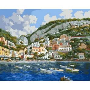 Уютная гавань Раскраска картина по номерам акриловыми красками на холсте