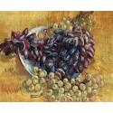 Натюрморт с виноградом (репродукция Ван Гога) Раскраска картина по номерам на холсте Molly