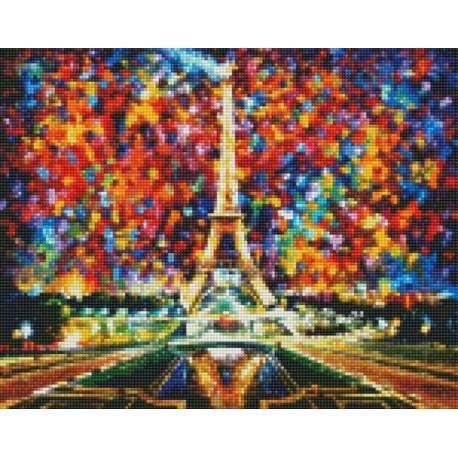 эйфелева башня алмазная мозаика на подрамнике Cep 021
