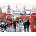Лондонская суета Раскраска картина по номерам на холсте