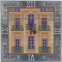 Дом с мезонином Часы Алмазные на подрамнике с полной выкладкой Color Kit