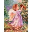 Милые создания Раскраска картина по номерам на холсте Menglei