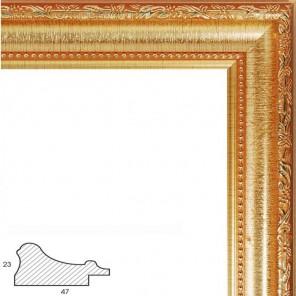 Rococo (золотой) Рамка багетная универсальная для картины