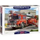 Вид коробки Пожарная машина Пазлы Castorland
