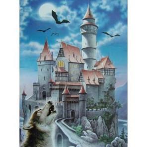 Замок и волк Пазлы Castorland