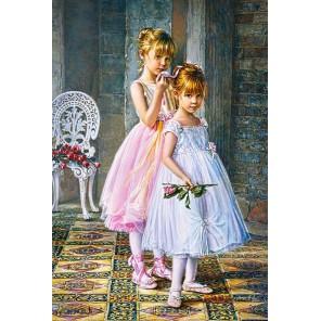 Юные балерины Пазлы Castorland