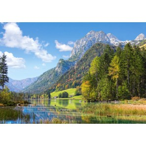 Гора Убежище в Альпах Пазлы Castorland