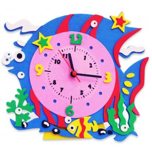 Рыбка часы Набор для творчества из фоамирана Color Kit