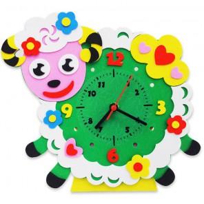 Овечка часы Набор для творчества из фоамирана Color Kit