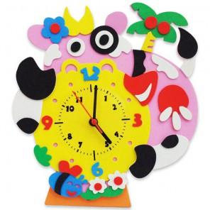 Бурёнка часы Набор для творчества из фоамирана Color Kit