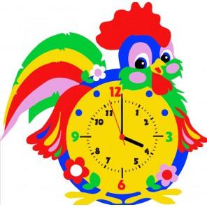 Петух часы Набор для творчества из фоамирана Color Kit