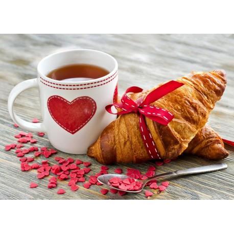 Французский завтрак Алмазная мозаика (вышивка) Гранни