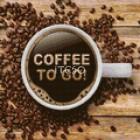 Кофе с собой! Алмазная мозаика на твердой основе Iteso