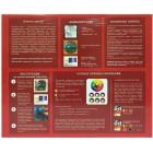 Маки в стиле Тиффани Набор с рамкой для создания картины-витража Color Kit