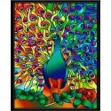 Жар-птица Набор с рамкой для создания картины-витража Color Kit