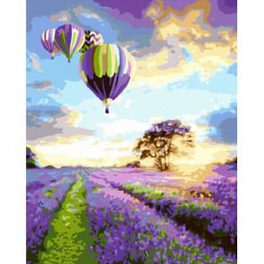 Воздушные шары Раскраска картина по номерам на холсте