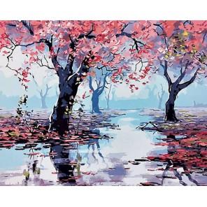 Весна (художник Грэм Геркен) Раскраска картина по номерам на холсте