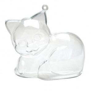 Котенок Фигурка разъемная из пластика для декорирования