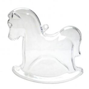Лошадка Фигурка разъемная из пластика для декорирования