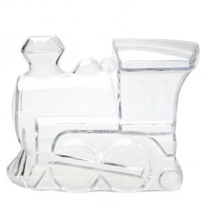 Паровоз-копилка Фигурка разъемная из пластика для декорирования