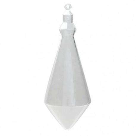 Сосулька Фигурка разъемная из пластика для декорирования