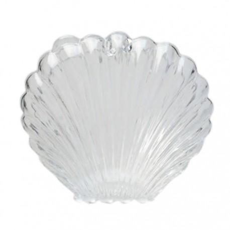 Ракушка Фигурка разъемная из пластика для декорирования