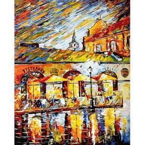 Минск, у ратуши Раскраска картина по номерам на холсте