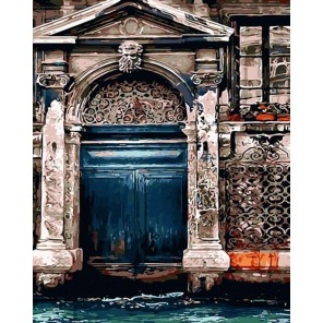 Уголок в Венеции Раскраска картина по номерам на холсте