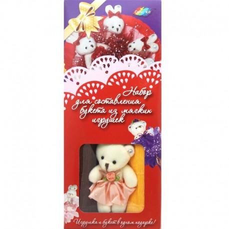 Шоколадные конфеты Внешний вид Набор для создания букета из 7-ми игрушек