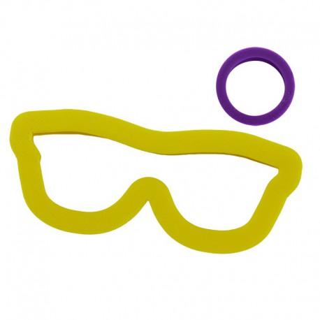 Очки со зрачком Формы для вырезания печенья и пряников
