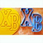 ХВ буквы Формы для вырезания печенья и пряников