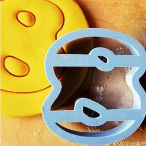 Цифра 8 Форма для вырезания печенья и пряников