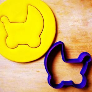 Детская коляска Форма для вырезания печенья и пряников