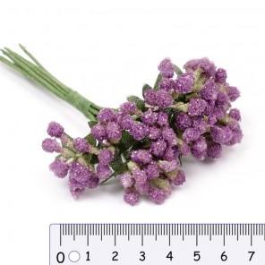 Фиолетовый Декоративный букетик Рукоделие