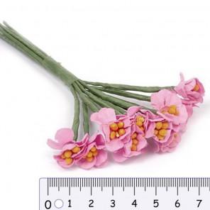 Розовые цветы Декоративный букетик Рукоделие